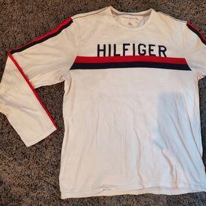 Tommy hilfiger long sleeve shirt L